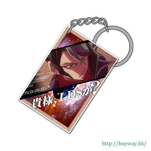 遊戲王 「黑咲隼」咭片形亞克力匙扣 Card-shaped Acrylic Keychain: Shay Obsidian【Yu-Gi-Oh!】