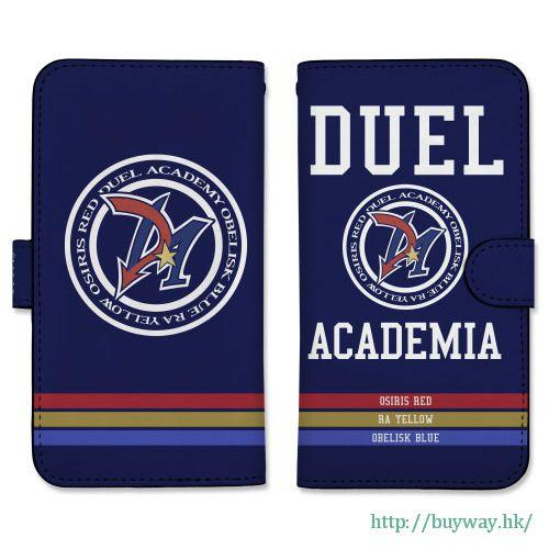 遊戲王 「Duel Academia」158mm 筆記本型手機套 (iPhone6plus/7plus/8plus) Book-style Smartphone Case 158: GX Duel Academia【Yu-Gi-Oh!】