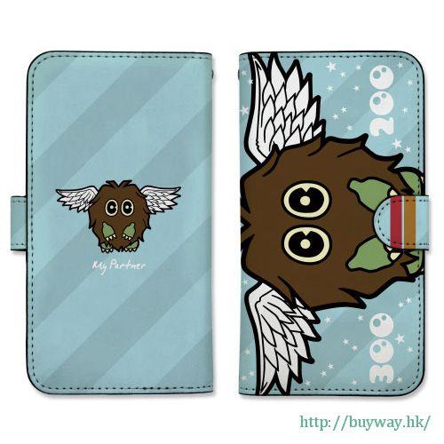 遊戲王 「羽翼栗子球」158mm 筆記本型手機套 (iPhone6plus/7plus/8plus) Book-style Smartphone Case 158: GX Winged Kuriboh【Yu-Gi-Oh!】
