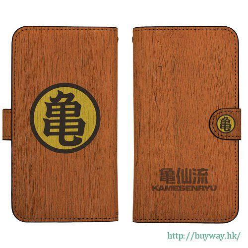 龍珠 「亀仙流」158mm 筆記本型手機套 (iPhone6plus/7plus/8plus) Book-style Smartphone Case 158: Kamesenryuu【Dragon Ball】