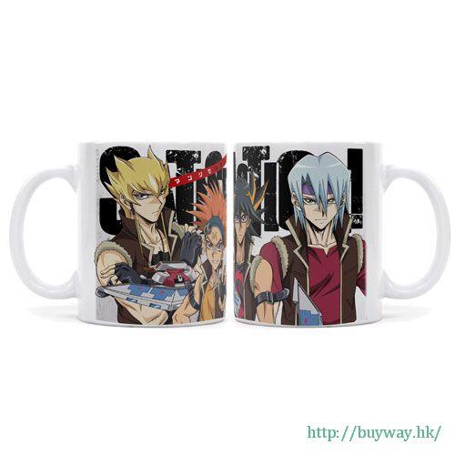 遊戲王 「チームサティスファクション」全彩 陶瓷杯 Full Color Mug: Team Satisfaction no Manzoku Shiyou ze!【Yu-Gi-Oh!】