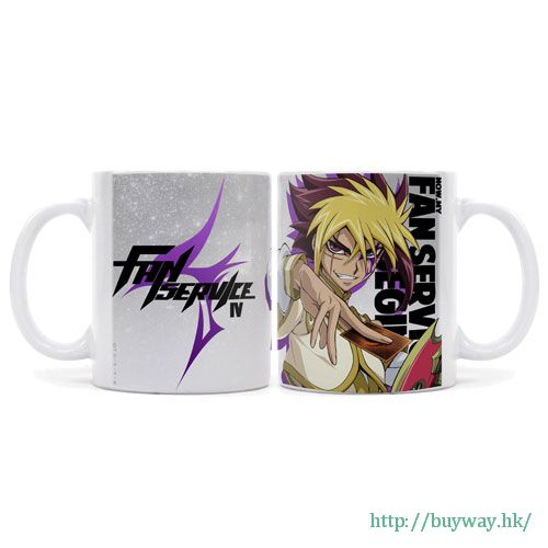 遊戲王 「IV」全彩 陶瓷杯 Full Color Mug: Quattro no Fanservice【Yu-Gi-Oh!】