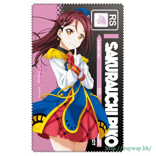 LoveLive! Sunshine!! 「櫻內梨子」手機 / 眼鏡清潔布 HAPPY PARTY TRAIN Ver Cleaner Cloth: Riko Sakurauchi HAPPY PARTY TRAIN Ver.【Love Live! Sunshine!!】
