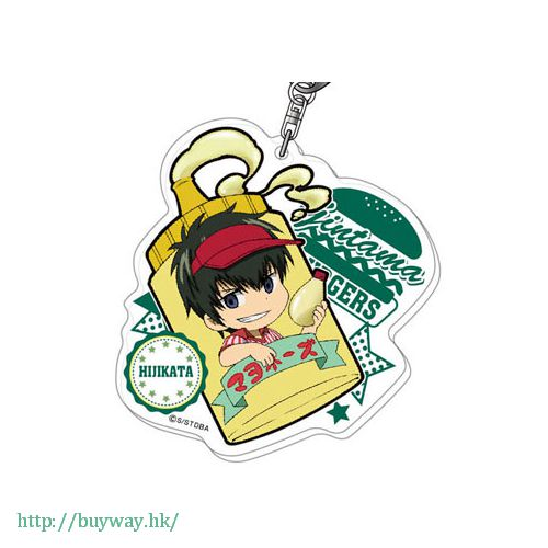 銀魂 「土方十四郎」薯條漢堡系列 亞克力匙扣 Acrylic Key Chain Burger Shop Series 02 Hijikata AK【Gin Tama】