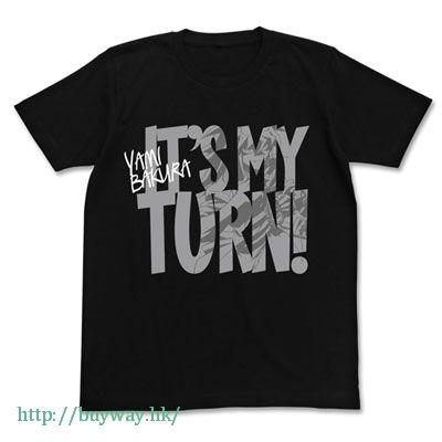 遊戲王 (加大)「貘良了」黑色 T-Shirt Yami Bakura no Turn T-Shirt / BLACK-XL【Yu-Gi-Oh!】