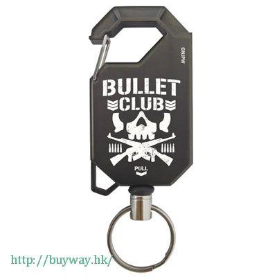 新日本職業摔角 「BULLET CLUB」伸縮匙扣 Reel Keychain: BULLET CLUB【New Japan Pro-wrestling】