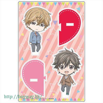 獨占我的英雄 「支倉麻也 + 大柴健介」企牌 Pair Acrylic Chara Stand B: Asaya Hasekura + Kensuke Oshiba【Hitorijime My Hero】