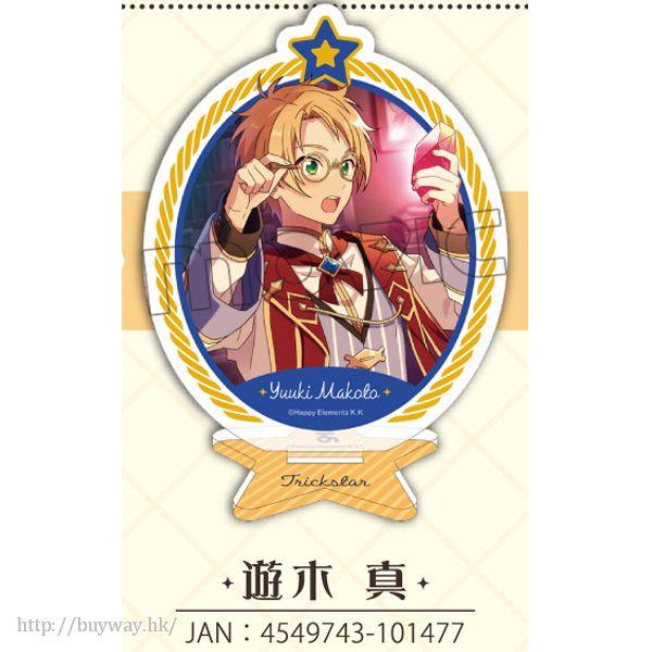合奏明星 「遊木真」亞克力橢圓形企牌 Acrylic Plate Stand vol.1 Yuuki Makoto【Ensemble Stars!】