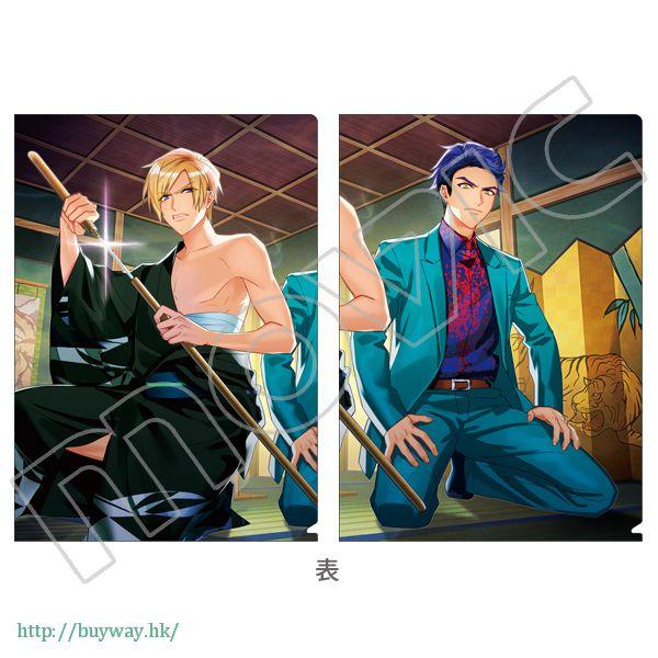 A3! 「古市左京 + 兵頭十座」文件套 第3回公演 (開花後) (1 套 2 款) 3rd Performance Clear File Set Sakyo Furuichi + Juza Hyodo (2 Pieces)【A3!】