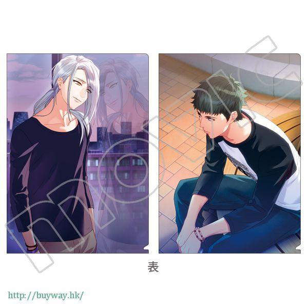 A3! 「雪白東 + 高遠丞」文件套 第3回公演 (開花前) (1 套 2 款) 3rd Performance Clear File Set Azuma Yukishiro + Tasuku Takato (2 Pieces)【A3!】