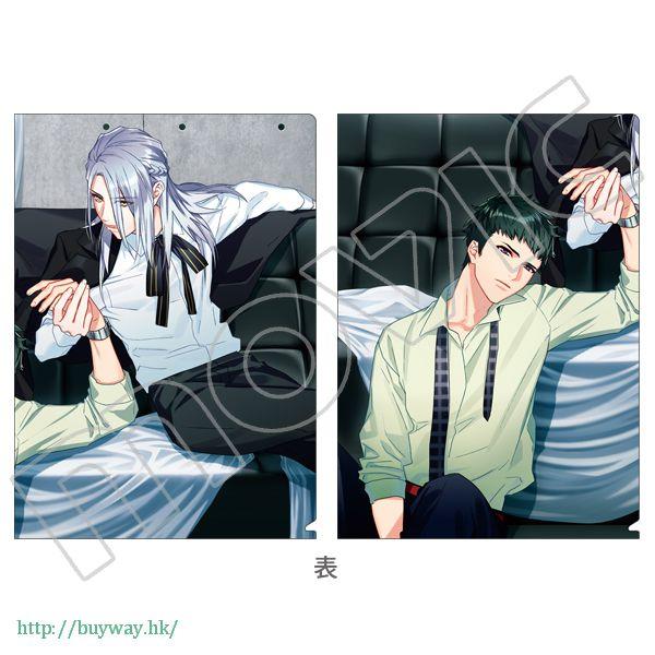 A3! 「雪白東 + 高遠丞」文件套 第3回公演 (開花後) (1 套 2 款) 3rd Performance Clear File Set Azuma Yukishiro + Tasuku Takato (2 Pieces)【A3!】