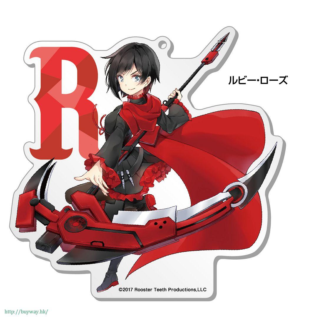 RWBY 「露比.蘿絲」100mm 亞克力企牌 Big Acrylic Stand 1 Ruby【RWBY】