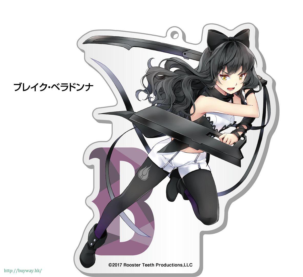 RWBY 「布蕾克.貝拉多娜」100mm 亞克力企牌 Big Acrylic Stand 3 Blake【RWBY】