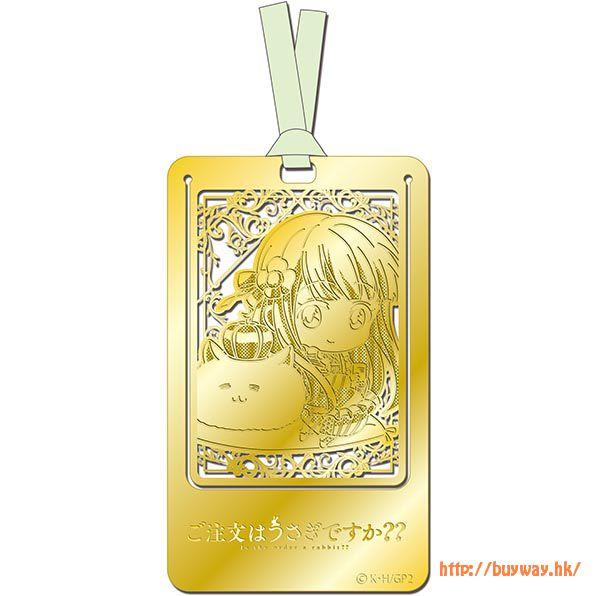 請問您今天要來點兔子嗎? (2 枚入)「宇治松千夜」金屬書籤 (2 Pieces) Metal Art Bookmark Chiya【Is the Order a Rabbit?】