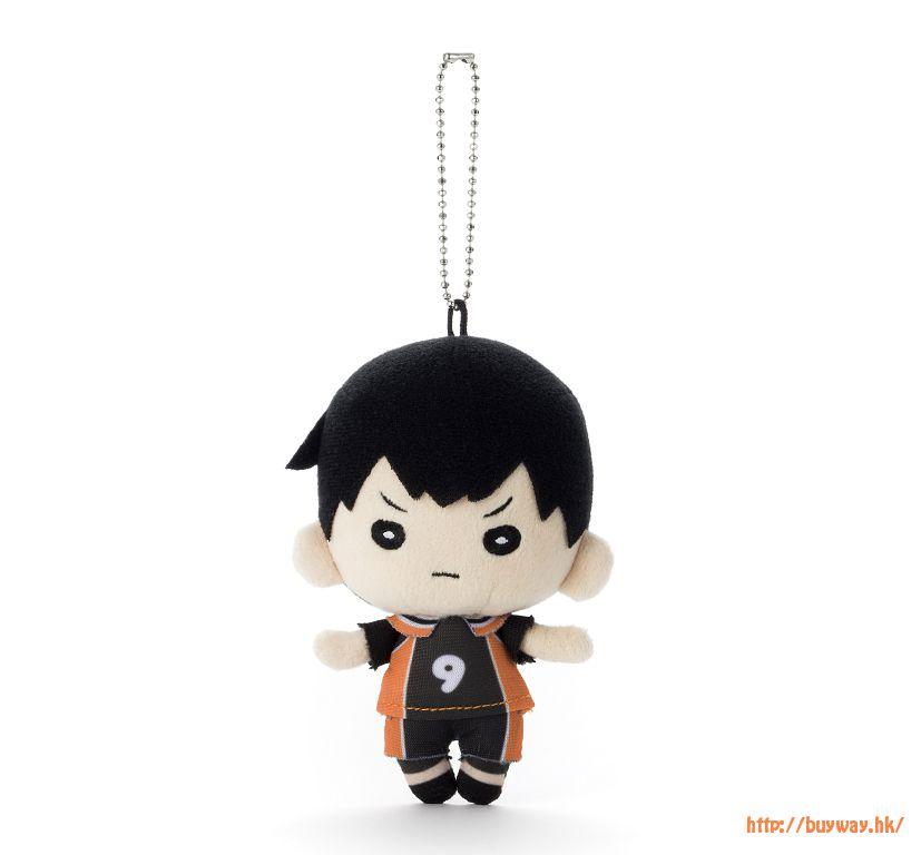 排球少年!! 「影山飛雄」豆豆眼 公仔掛飾 Nitotan Plush with Ball Chain Kageyama【Haikyu!!】