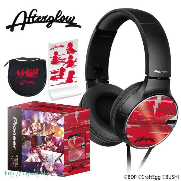 BanG Dream! 「Afterglow」頭戴式耳機 Pioneer Headphone Afterglow【BanG Dream!】