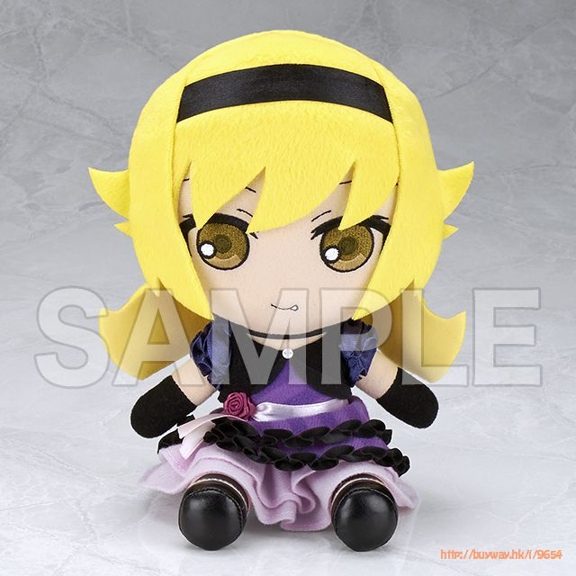 物語系列 「忍野忍」毛公仔 + 收藏徽章 Oshino Shinobu Stuffed Toy【Monogatari Series】
