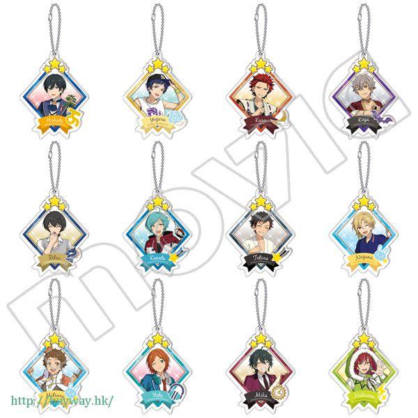 合奏明星 亞克力 匙扣 星みっつ Vol.1 ver.B (12 個入) Acrylic Key Chain Collection Star Mitsu Vol.1 / Ver.B (12 Pieces)【Ensemble Stars!】