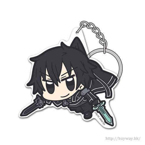 刀劍神域系列 「桐谷和人」SAO 亞克力 吊起匙扣 Acrylic Pinched Keychain: SAO Kirito【Sword Art Online Series】