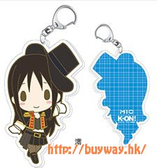 "K-On!輕音少女 「秋山澪」""Animaru"" 限定匙扣 Animaru! Limited Illustration Acrylic Key Chain Mio【K-On!】"
