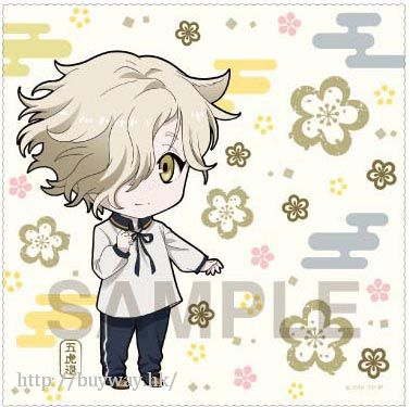刀劍亂舞-ONLINE- 「五虎退」多用途清潔布 Nendoroid Plus Multi Cloth Gokotai【Touken Ranbu -ONLINE-】