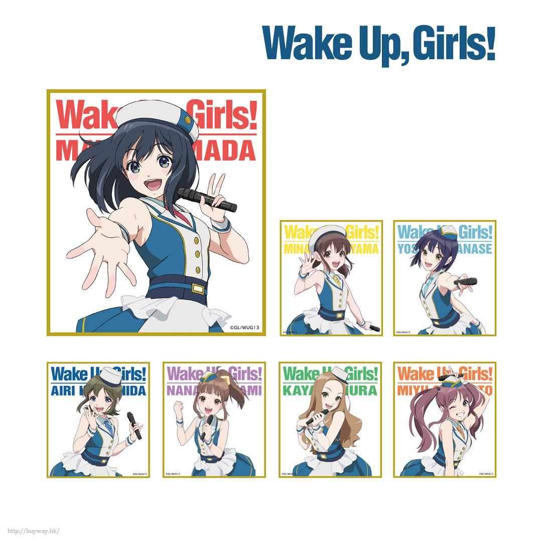 Wake Up, Girls! 色紙 (7 個入) Mini Shikishi (7 Pieces)【Wake Up, Girls!】