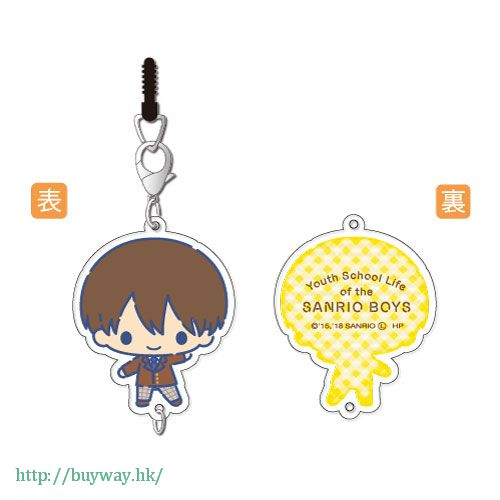 三麗鷗男子 「長谷川康太」掛飾 Chain Collection Hasegawa Kota【Sanrio Boys】