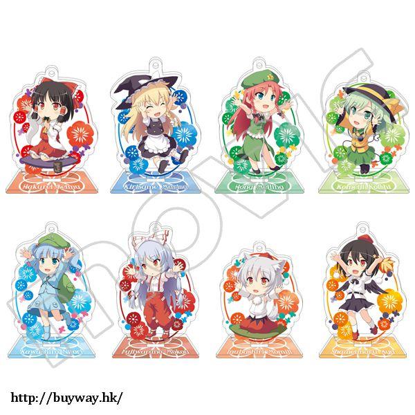 東方Project 亞克力企牌 / 掛飾 yamasan先生插圖 (8 個入) Acrylic Stand (8 Pieces)【Touhou Project】