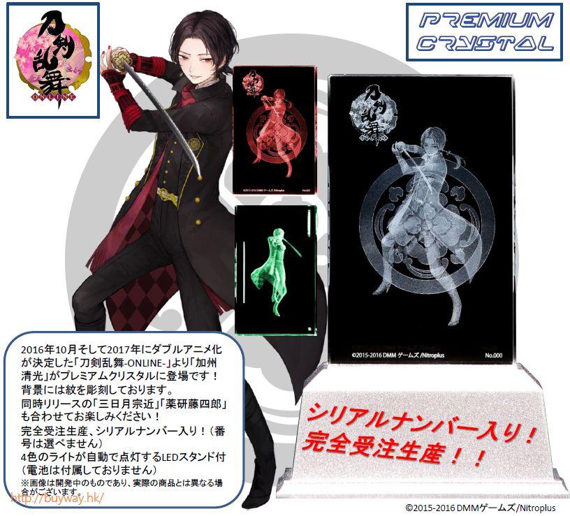 刀劍亂舞-ONLINE- 「加州清光」水晶擺設 Kashu Kiyomitsu Premium Crystal【Touken Ranbu -ONLINE-】