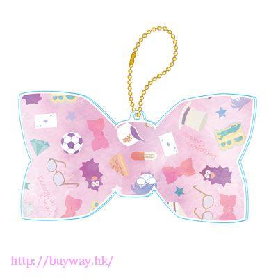 名偵探柯南 柯南少女系列 粉紅色 亞克力蝴蝶結 匙扣 Girly Collection Acrylic Keychain (Pink)【Detective Conan】