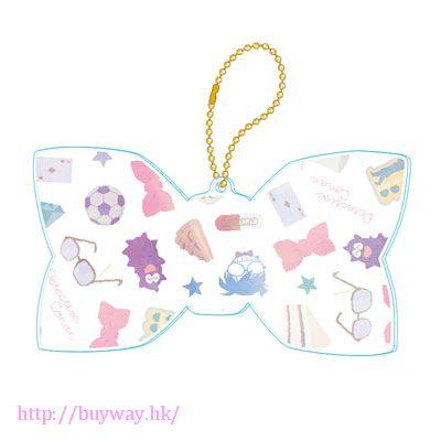 名偵探柯南 柯南少女系列 白色 亞克力蝴蝶結 匙扣 Girly Collection Acrylic Keychain (White)【Detective Conan】