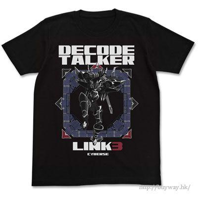 遊戲王 (大碼)「Decode Talker」黑色 T-Shirt Decode Talker T-Shirt / BLACK-L【Yu-Gi-Oh!】
