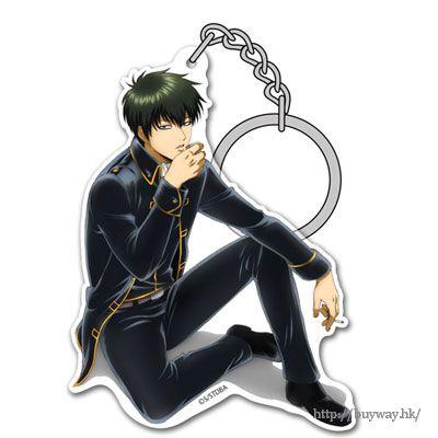 """銀魂 「土方十四郎」と一杯 ver. 亞克力匙扣 Acrylic Keychain: """"Toshiro Hijikata"""" Hijikata to Ippai Ver.【Gin Tama】"""