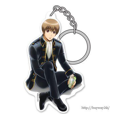 """銀魂 「沖田總悟」と一杯 ver. 亞克力匙扣 Acrylic Keychain: """"Sougo Okita"""" Okita to Ippai Ver.【Gin Tama】"""