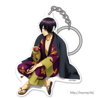 """銀魂 「高杉晉助」と一杯 ver. 亞克力匙扣 Acrylic Keychain: """"Shinsuke Takasugi"""" Takasugi to Ippai Ver.【Gin Tama】"""