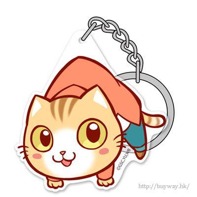 働くお兄さん! 「茶トラ沢タピオ」吊起匙扣 Acrylic Pinched Keychain: Tapio Chatorazawa【Hataraku Oniisan!】