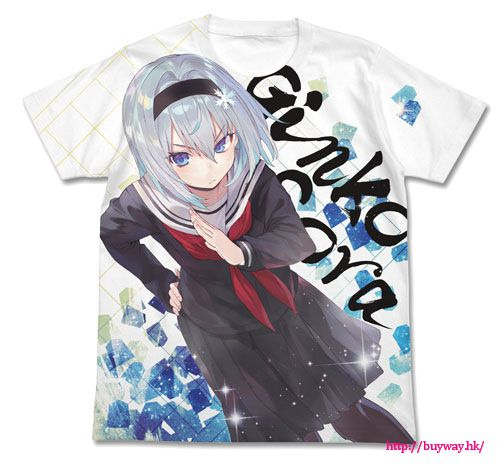 龍王的工作! (加大)「空銀子」白色 全彩 T-Shirt Ginko Sora Full Graphic T-Shirt / WHITE-XL【Ryuoh no Oshigoto!】
