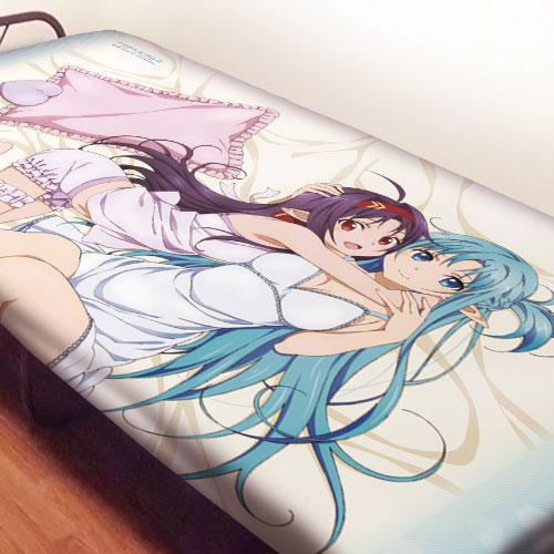 刀劍神域系列 「亞絲娜 + 有紀」床單 Sheets Asuna & Yuki【Sword Art Online Series】
