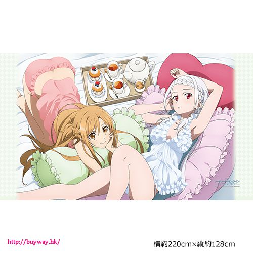 刀劍神域系列 「亞絲娜 + 尤娜」床單 Sheet Asuna & Yuna【Sword Art Online Series】