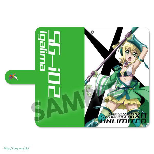 戰姬絕唱SYMPHOGEAR 「曉切歌」162mm 筆記本型手機套 Book Type Smartphone Case Akatsuki Kirika (Kyogeki, ISunboushi) (L Size)【Symphogear】