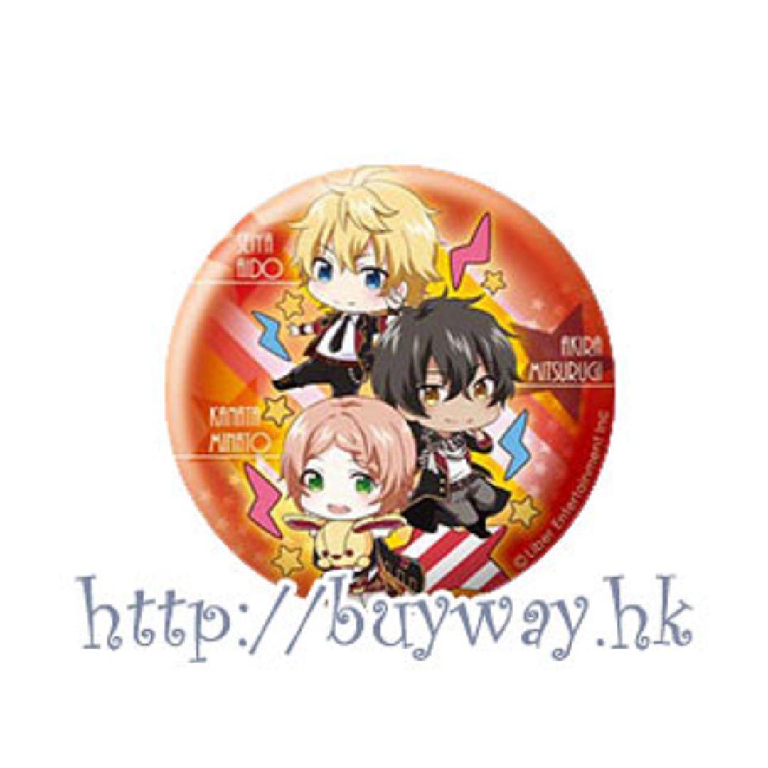 愛☆Chu 「F∞F」收藏徽章 Eformed Pon!to Can Badge「F∞F」【I☆Chu】