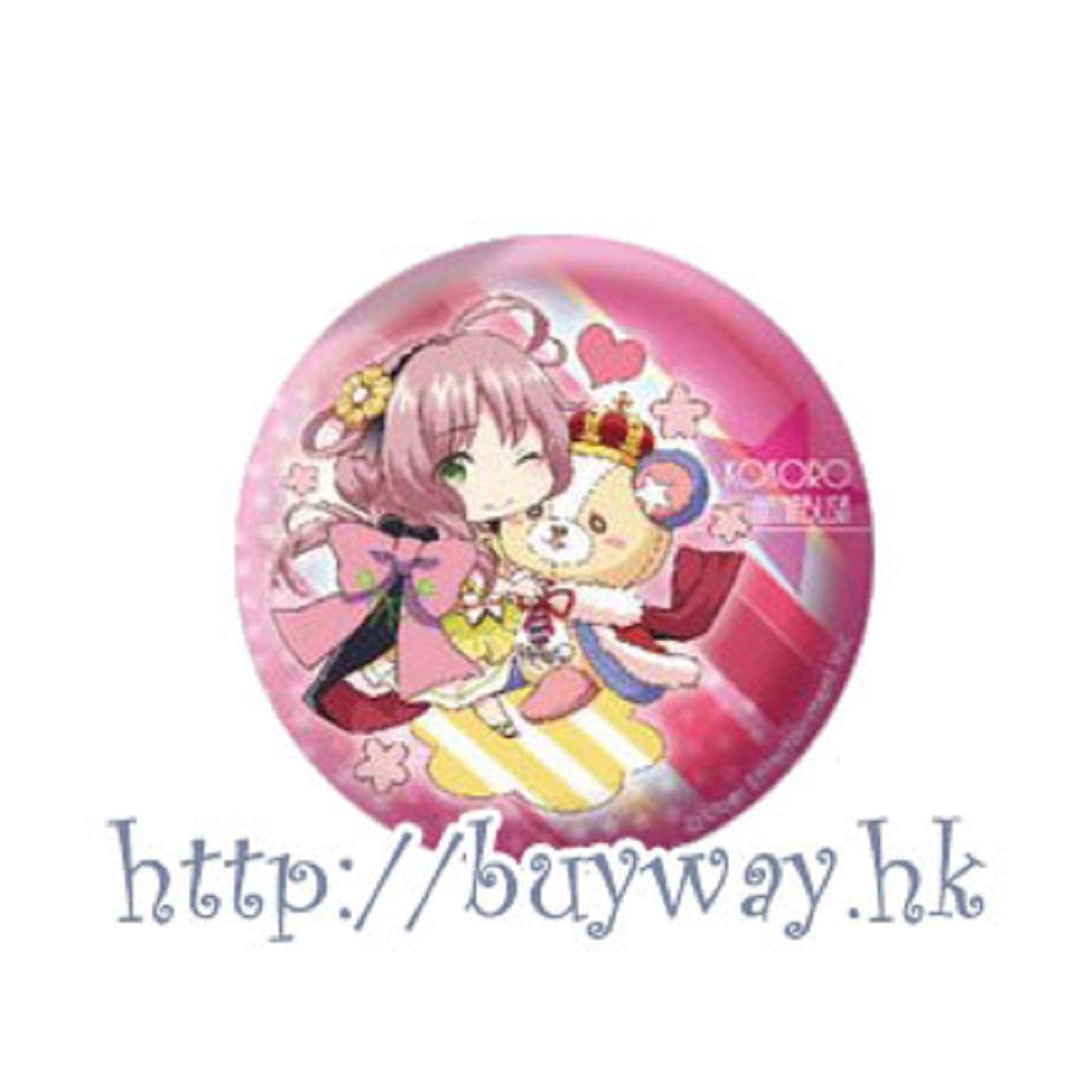 愛☆Chu 「POP'N STAR」收藏徽章 Eformed Pon!to Can Badge「POP'N STAR」【I☆Chu】