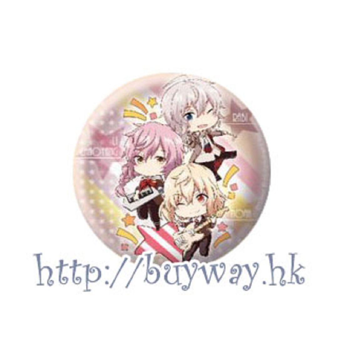 愛☆Chu 「I♥B」(A) 收藏徽章 Eformed Pon!to Can Badge「I♥B」(A)【I☆Chu】