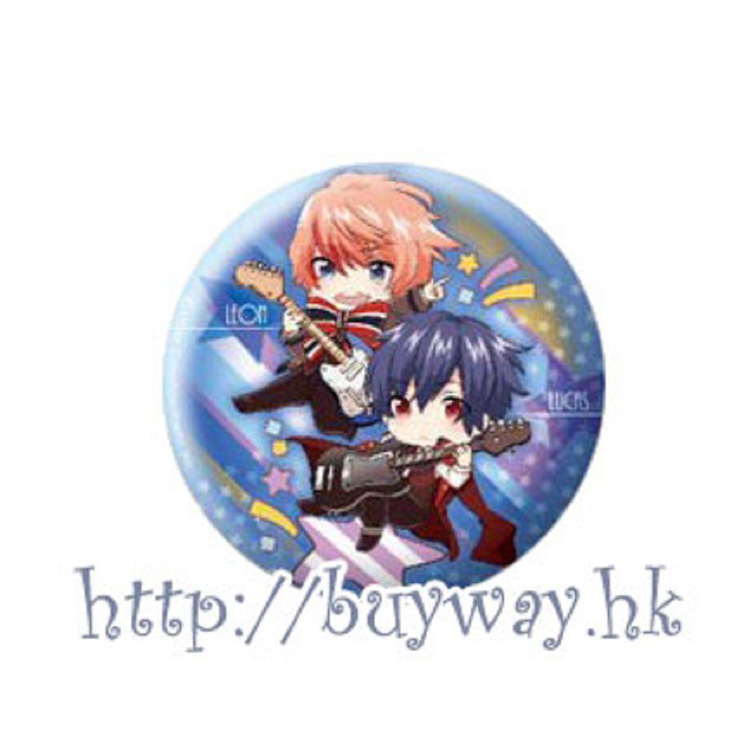 愛☆Chu 「I♥B」(B) 收藏徽章 Eformed Pon!to Can Badge「I♥B」(B)【I☆Chu】