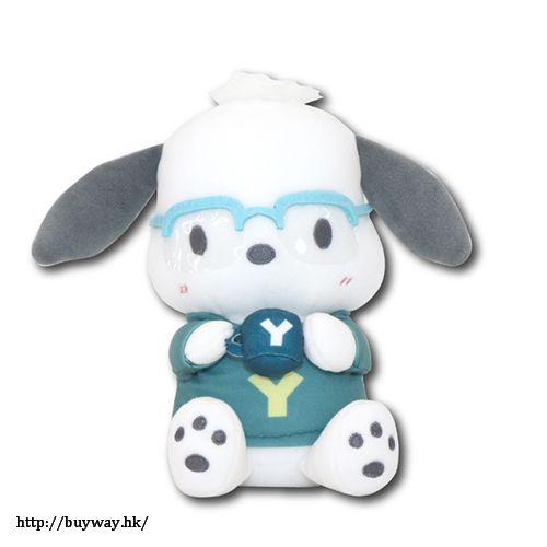 勇利!!! on ICE 「PC狗」Yuri on Ice×Sanrio characters Café 限定 S 毛公仔 Yuri on Ice×Sanrio characters Plush Doll S Pochacco Café Style【Yuri on Ice】
