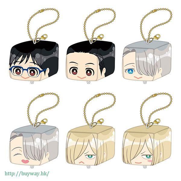 勇利!!! on ICE FACE CUBE 小立方掛飾 (6 個入) FACE CUBE Stuffed Key Chain (6 Pieces)【Yuri on Ice】