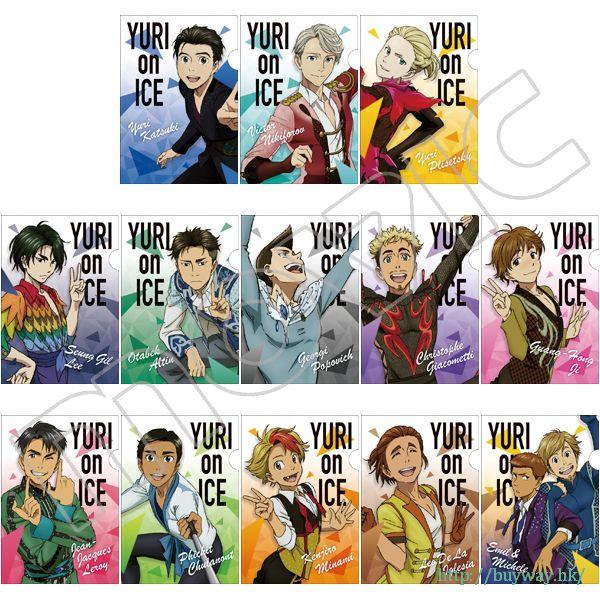 勇利!!! on ICE B6 文件套 (13 個入) Mini Clear File Collection (13 Pieces)【Yuri on Ice】