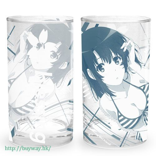 "不起眼女主角培育法 「加藤惠」玻璃杯 ""Megumi Kato"" Glass【Saekano: How to Raise a Boring Girlfriend】"