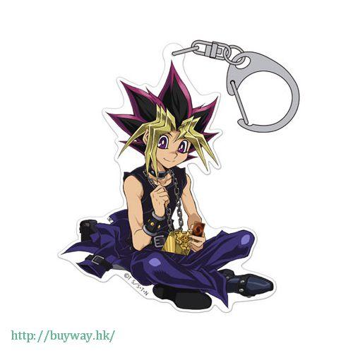 遊戲王 「武藤遊戲 (闇遊戲/アテム)」亞克力 匙扣 Acrylic Keychain Yugi Muto【Yu-Gi-Oh!】