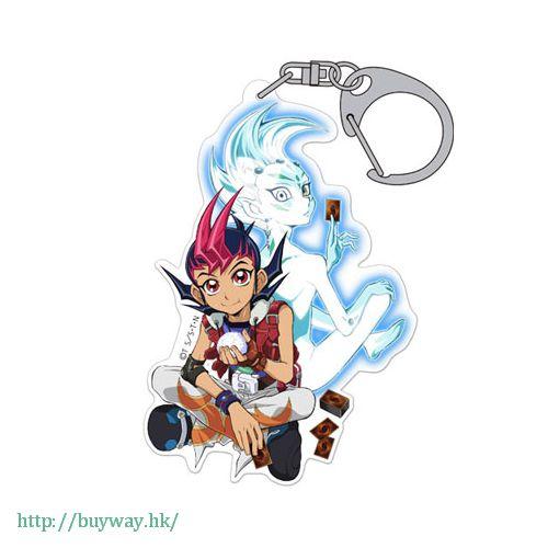 遊戲王 「阿斯特拉爾 + 九十九遊馬」亞克力 匙扣 Acrylic Keychain Yuma & Astral【Yu-Gi-Oh!】